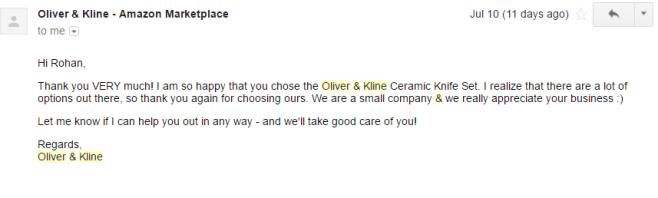 Oliver&Kline email